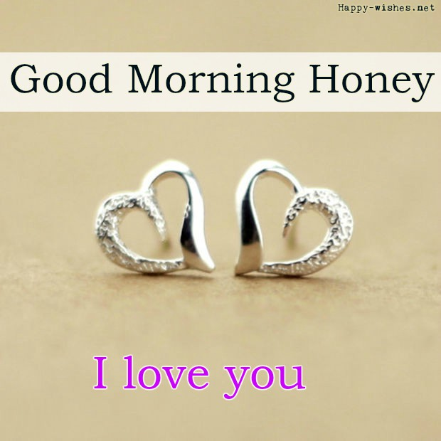 Good morning Honey images with rings