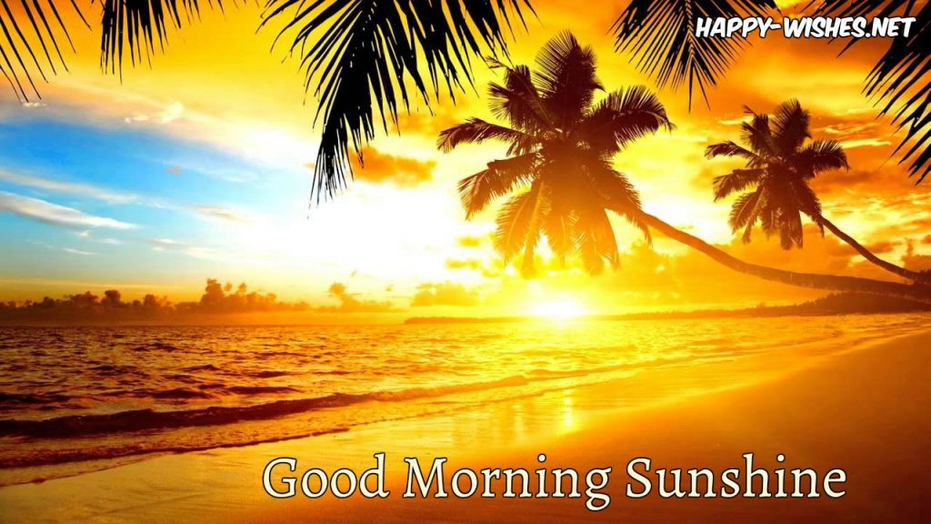 Good morning Sun shine images