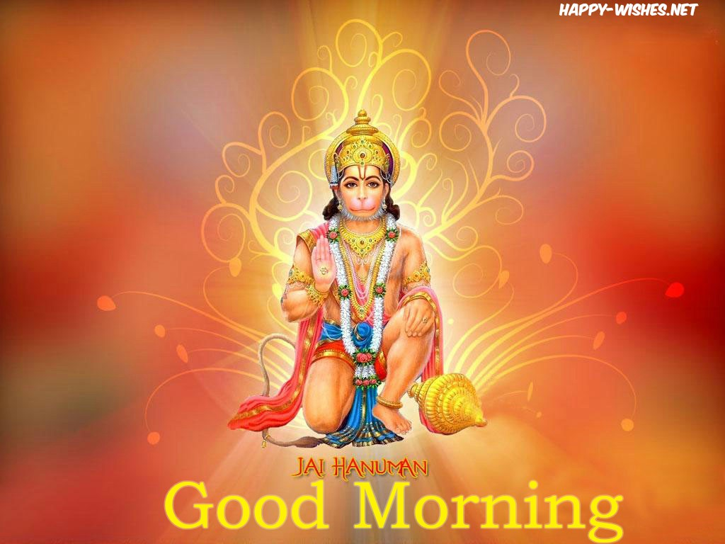 Good morning hanumanji wallpaper