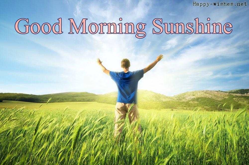 Good morning images Taking-Sunshine