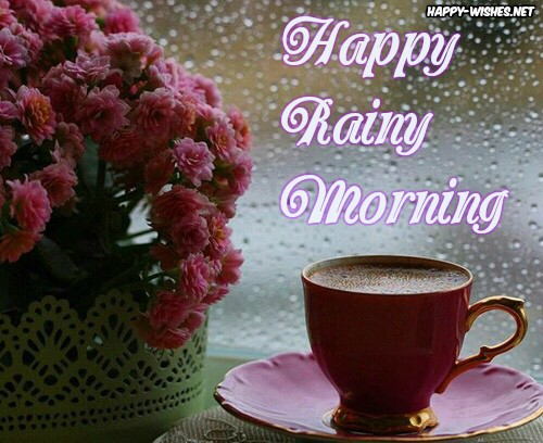 Good morning images on Rainy Day