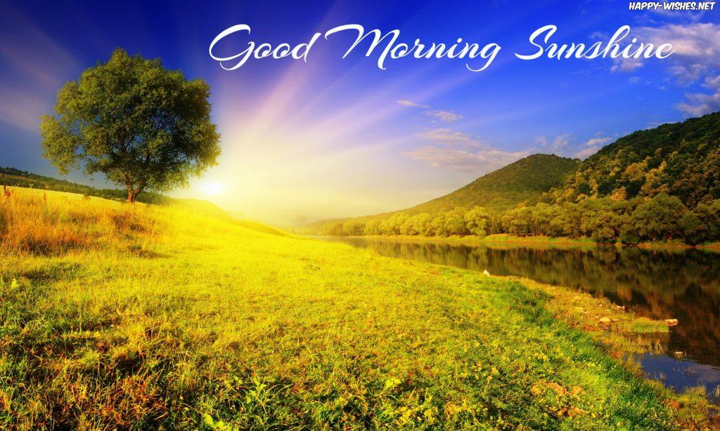 Good morning sunshine River side images