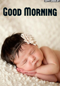 Best Good Morning wishes with Baby images