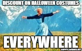 Halloween Discount Funny meme