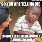 Best Halloween Candies Memes