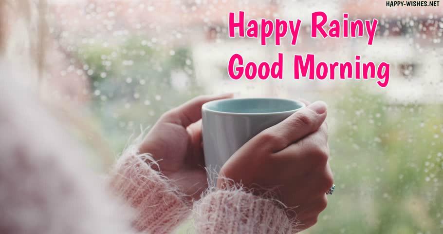Rainy Day Goodmoring wishes