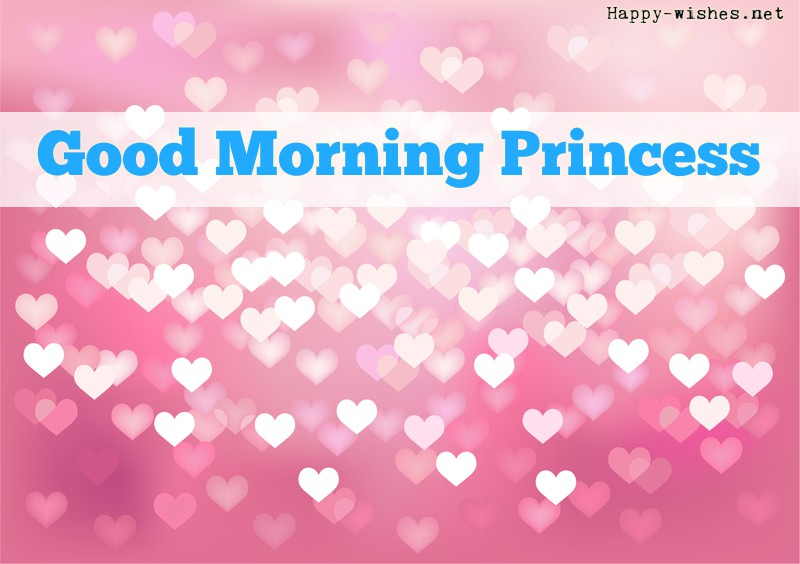 Romantic Good Morning Princess Images