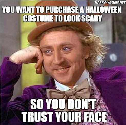 Sarcastic Halloween Costume Meme
