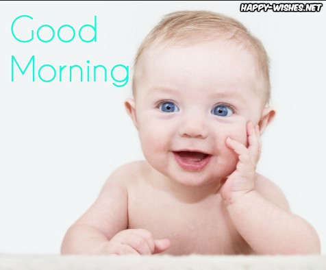 Small Boy thinking Good morning wishes