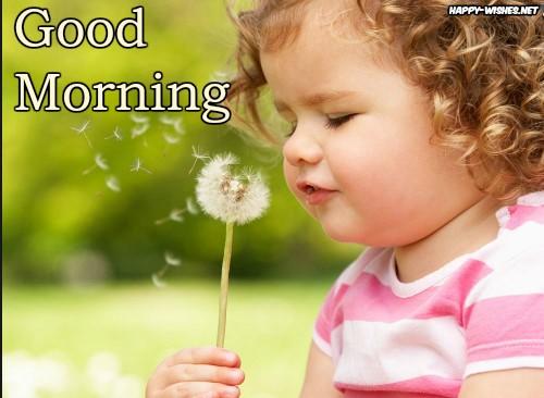 Small Boy Goodmorning