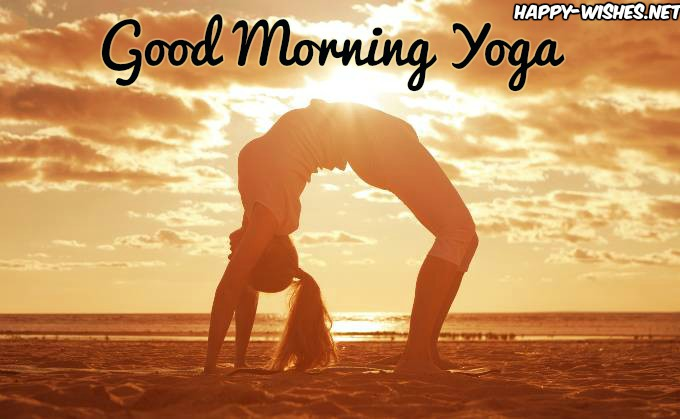 Yoga-Bridge Good Morning Images