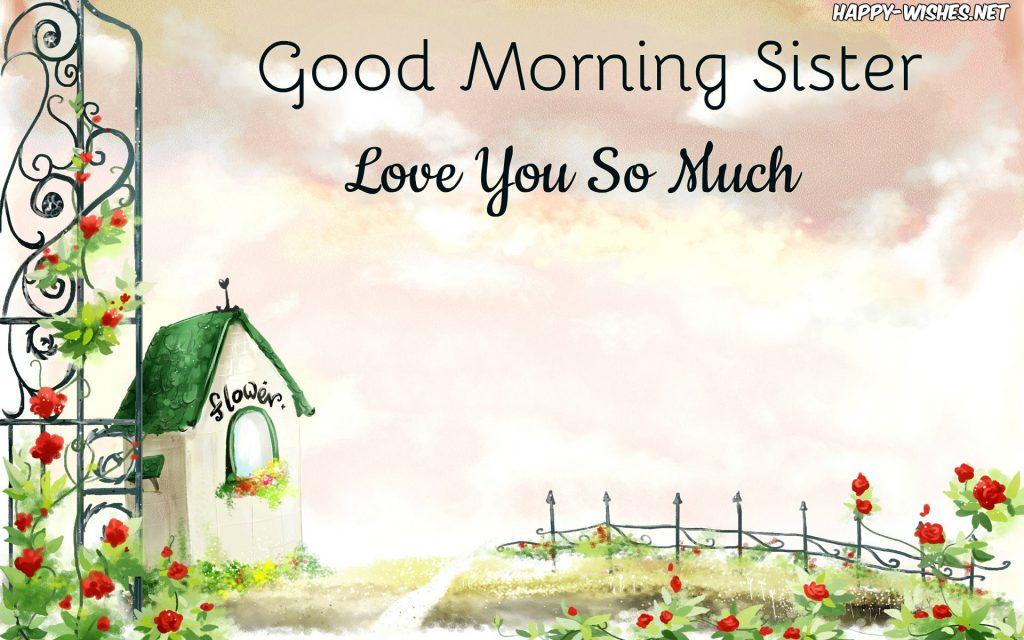 cute-girly-drawing-Good Morning Sister Images