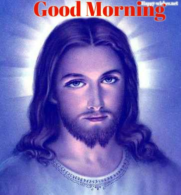 jesus-bleu-mauve Good Morning Images
