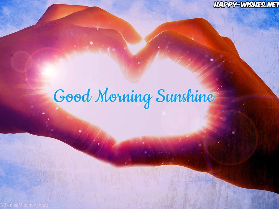 sunshine-love good morning images