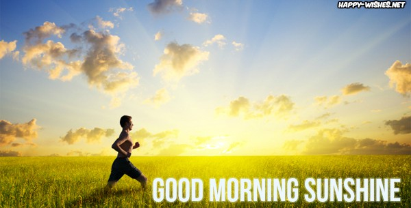 sunshine_runner Good morning images