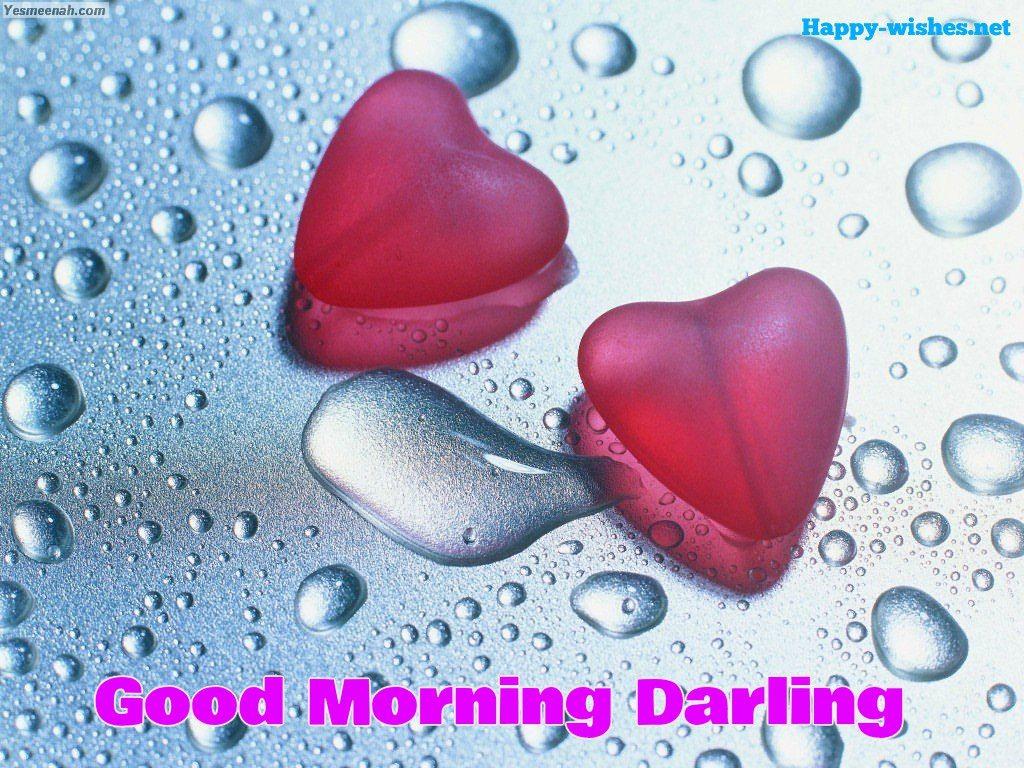 wet Good Morning Darling images