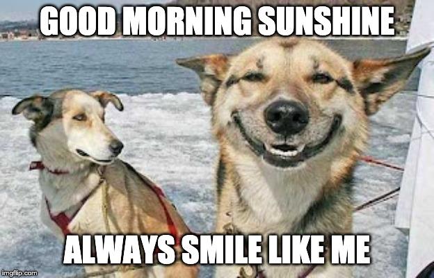 Always Smile Like me Sunshine