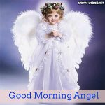 Baby Girl Angel Good Morning images