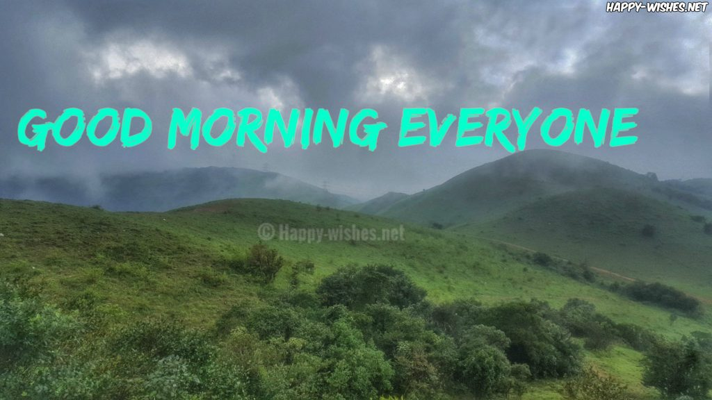 Best Good Morning Wishes with Natural Images
