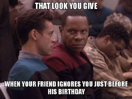 Best funny star trek birthday meme