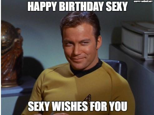 Best funny star trek birthday meme Captain Kirk