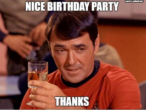 Best funny star trek birthday meme Montgomery Scott