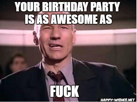 Best funny star trek birthday meme jean luc picard