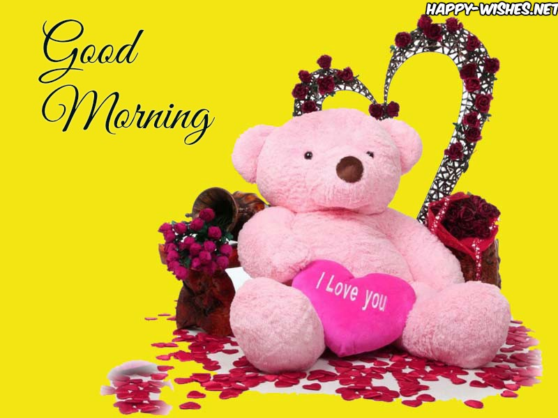 Cute Teddy Good Morning Images