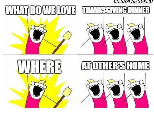 Funny thanks giving memes