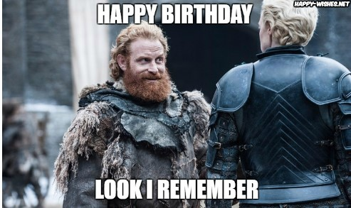 Game of thrones happy birthday wishes