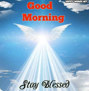 Good Morning Angel Wishes
