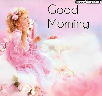 Good Morning Baby angel images