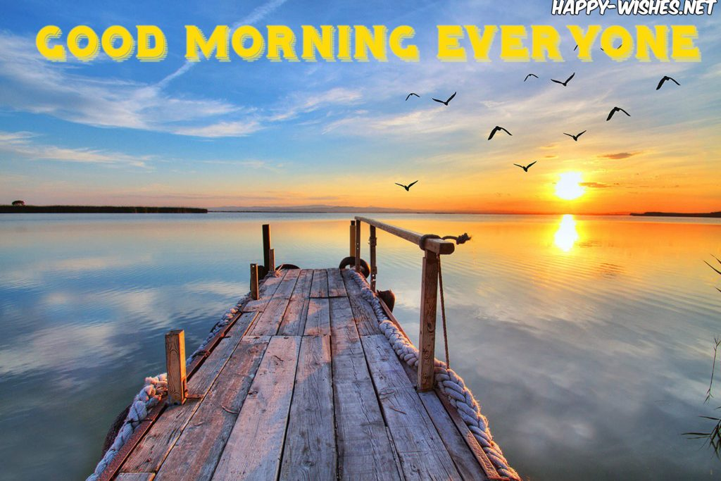 Good Morning Everyone Best images