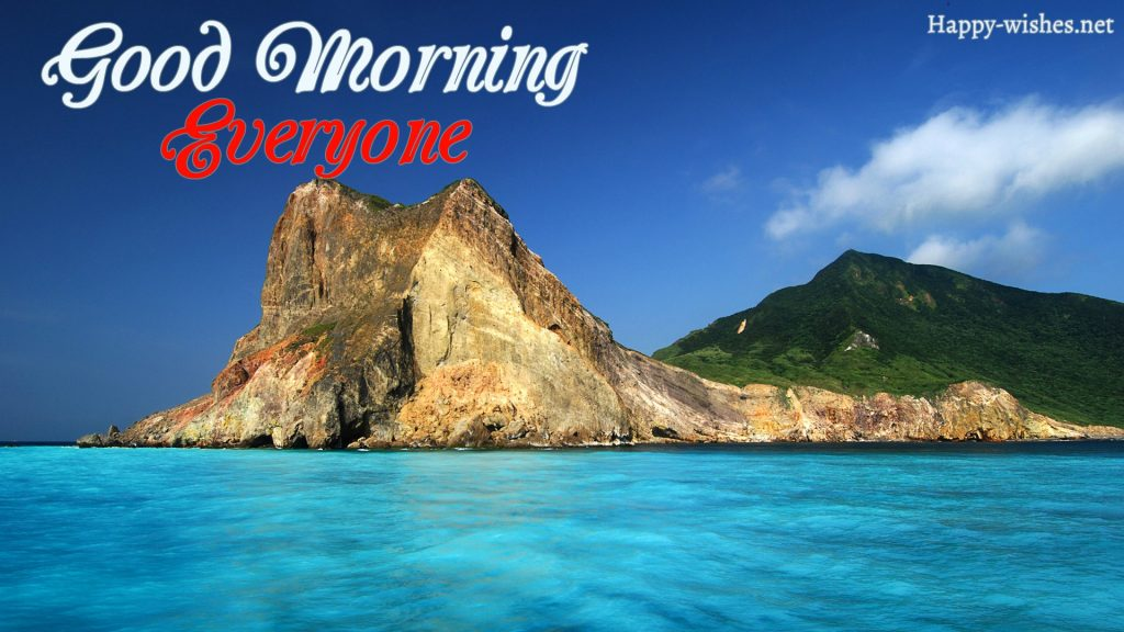 Good Morning Everyone SeaRock Images