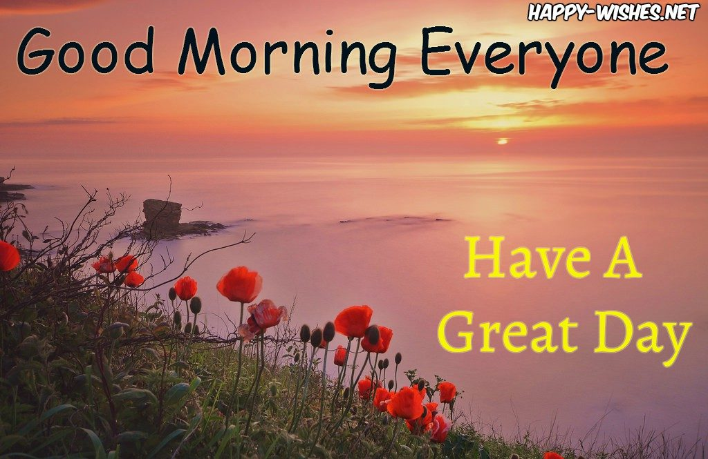 Good Morning Everyone Seaview images