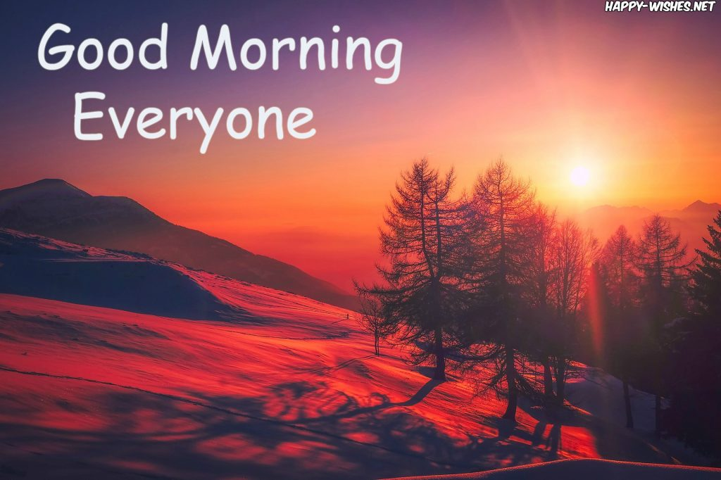 Good Morning Everyone Sunshine images