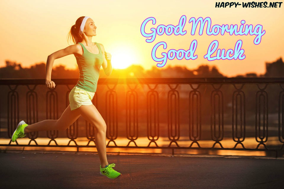 Good Morning Good Luck Images with Morning-Runners-
