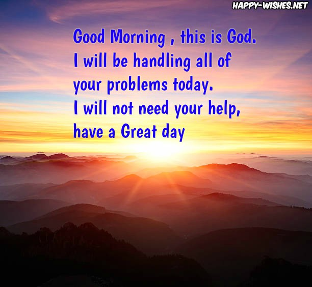 Good Morning This is god messages