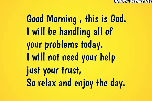 Good Morning This is god wishes with postive words