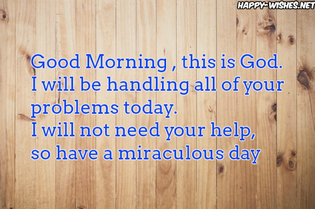 Good Morning This is godwishes with wooden background images