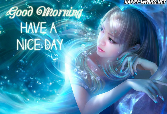 Good Morning Wishes With Angel images