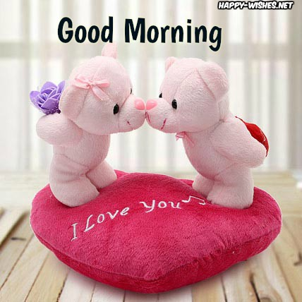 Good Morning Wishes With Teddy Images