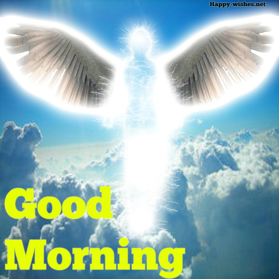 Good Morning Wishes with spirtual angel images