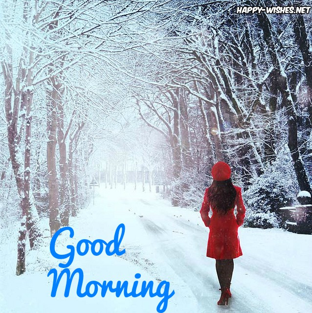 Good Morning winter Images