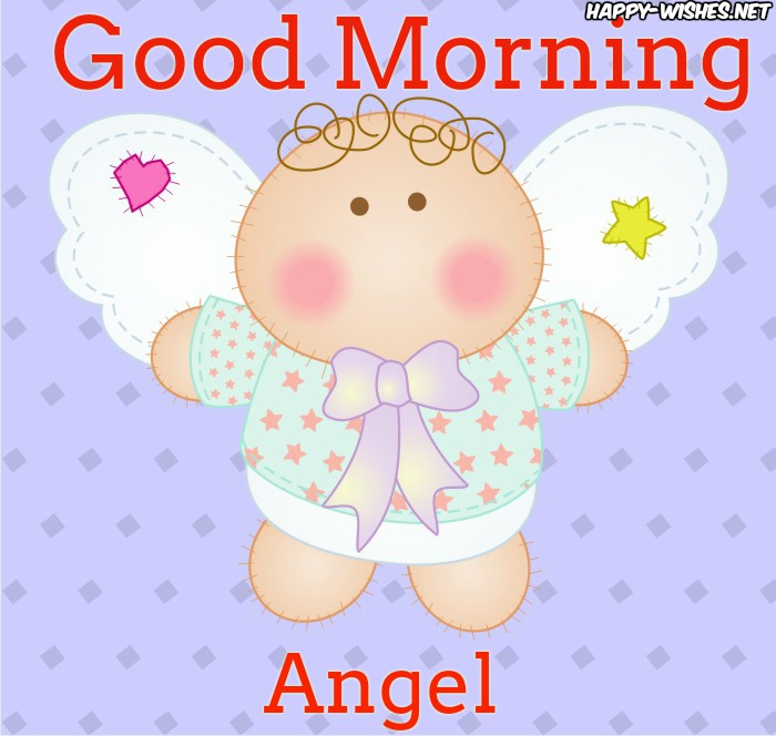Good Morning wishes with cute_angel_baby_images