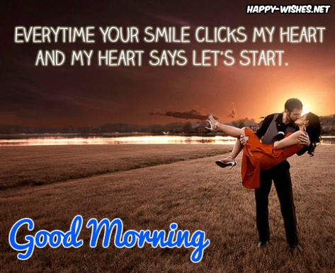 Good Morning wishes with flirty text