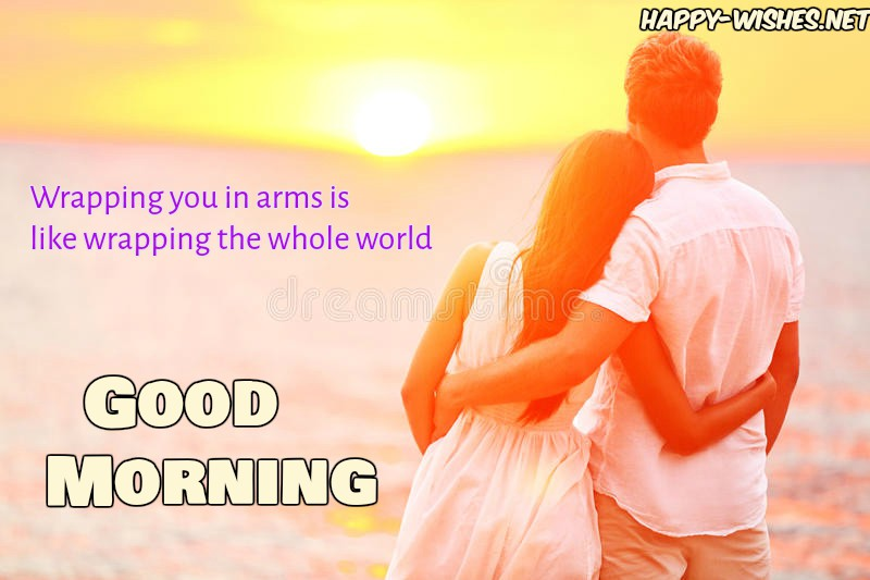 Good Morning wishes with flirty text wishes