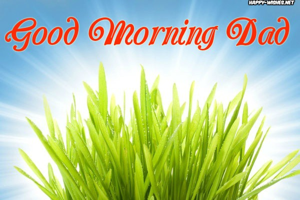Green Background Good Morning Dad images