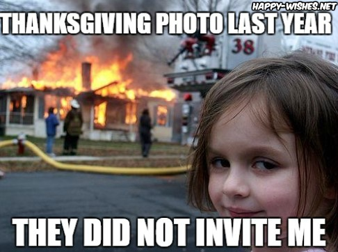 Happy Thanksgiving Funny Memes