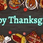 Happy Thanksgiving banner wishes